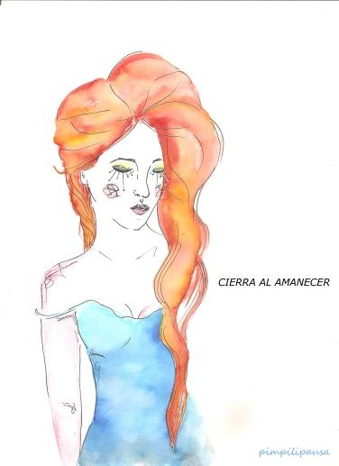 """Cierra al amanecer"" Print Din A5, 5€. Din A4, 10€, Din A3, 15€."